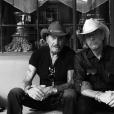 Johnny Hallyday photographié par Laeticia à Santa Fe, le 22 septembre 2016.