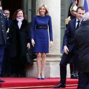 """Brigitte Macron ressort sa robe """"royale"""" pour de chaleureuses retrouvailles"""