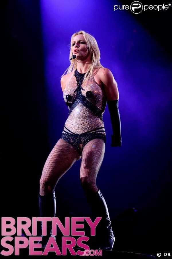 Britney Spears en concert à Washington le 24 mars