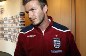 David Beckham, en conférence de presse, il est juste... à croquer ! Regardez !