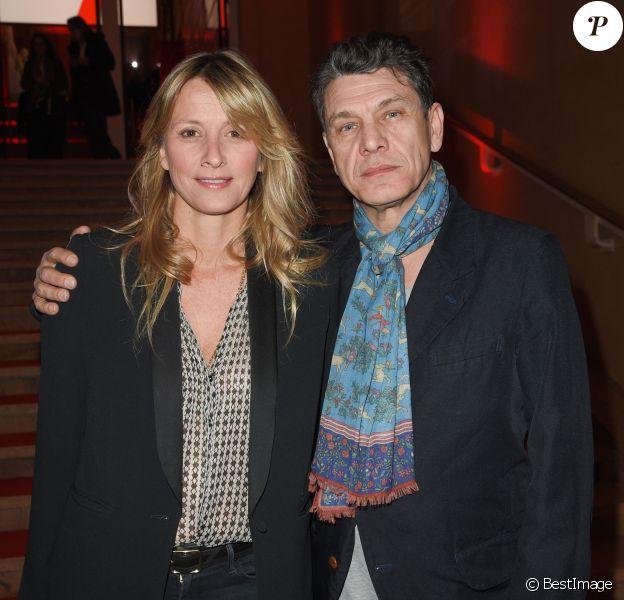 Marc et Sarah Lavoine - Soirée bicentenaire des Caisses d'Epargne au Palais de Chaillot à Paris, France, le 21 mars 2018. © Coadic Guirec/Bestimage