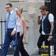 """Couverture du magazine """"Paris Match"""" en kiosques le 22 mars 2018."""