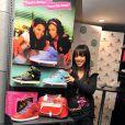 Mélissa M au Footlocker des Halles avec la nouvelle collection de chaussures Pastry