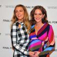 Blake Lively et Felicity Blunt enceinte à l'avant-première de 'Final Portrait' au musée Solomon R. Guggenheim à New York, le 22 mars 2018.