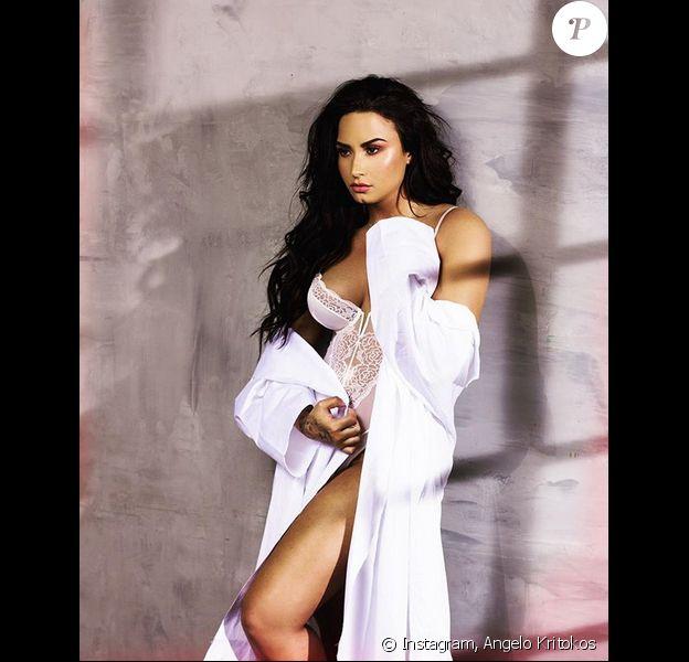 Demi Lovato photographiée par Angelo Kritikos.