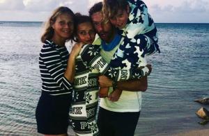 Gwyneth Paltrow et Chris Martin, complices pour un rare cliché avec les enfants