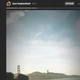 Image des dernières stories de Kourtney Kardashian au son de Patricia Kaas, sur Instagram, mars 2018.