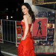 La superbe Rose McGowan... sur tapis rouge !