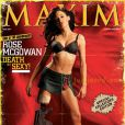 Rose McGowan, l'une des comédiennes les plus torride d'Hollywood... pour Maxim !