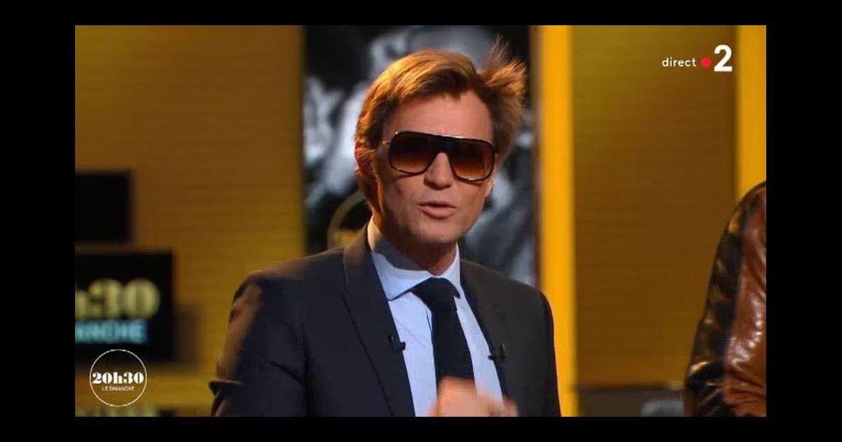 Laurent delahousse porte des lunettes de soleil fa on - Pourquoi maitre gims porte des lunettes ...