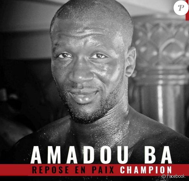 Mort d'Amadou Ba. Le site Martial Spirit lui a rendu hommage sur Twitter le 5 avril 2018.