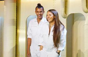 Stromae et sa femme Coralie, enceinte, font un triomphe avec le défilé Mosaert