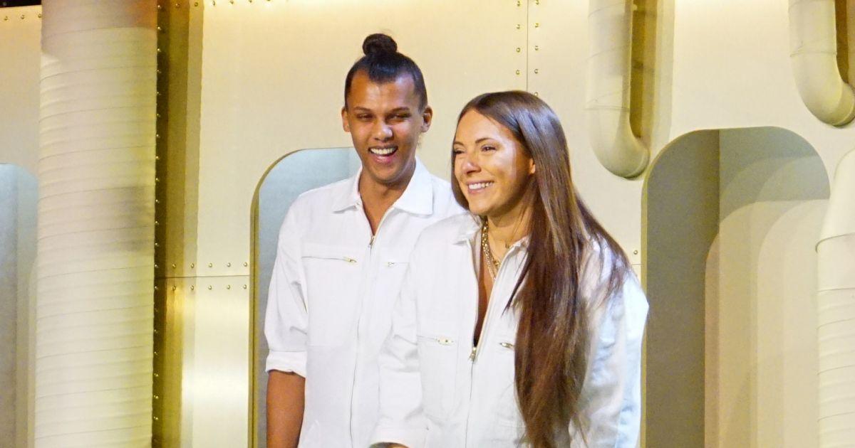Stromae et sa femme coralie enceinte font un triomphe for Africa express presents maison des jeunes