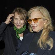 Nathalie Baye et Sylvie Vartan se retrouvent 4 mois après les obsèques de Johnny