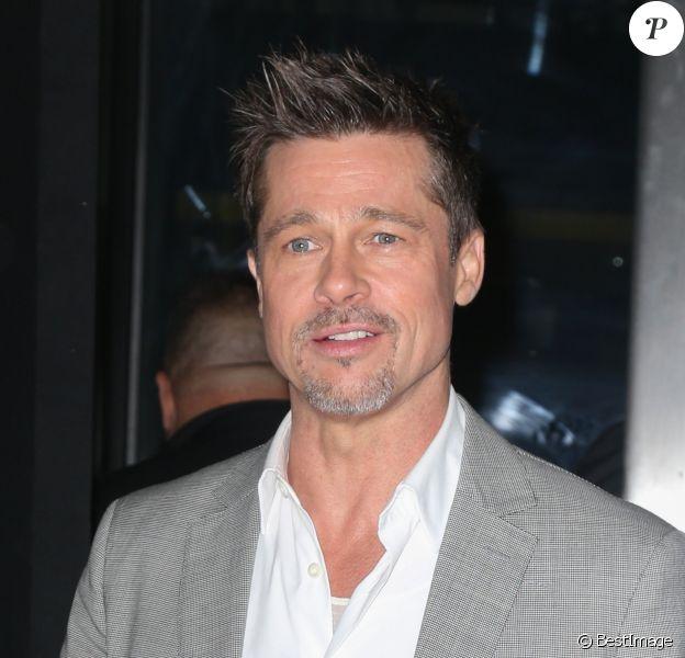 "Brad Pitt arrive à la première de ""Okja"" à New York, le 8 juin 2017  Brad Pitt arrives for the Netflix premiere of ""Okja"" in New York City, 8th june 201708/06/2017 - New York"