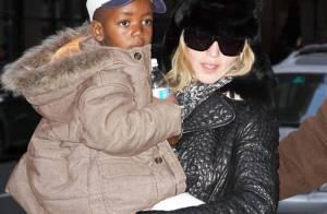 Madonna : Le petit David a rencontré son père biologique... après plus de deux ans !