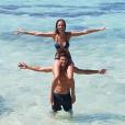 Jérémy Florès et Hinarini de Longeaux, Miss Tahiti 2012, ici dans une photo Instagram de juillet 2017, ont annoncé le 9 avril 2018 sur Facebook la naissance de leur premier enfant, une petite fille prénommée Hinahei.