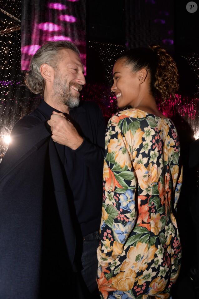 Vincent Cassel et Tina Kunakey au VIP Room à Paris, France, le 1 er décembre 2016. © Rachid Bellak/Bestimage