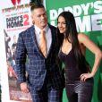 John Cena et sa fiancée Nikki Bella à la première de 'Daddy's Home 2' au théâtre Regency Village à Westwood, le 5 novembre 2017 © Chris Delmas/Bestimage