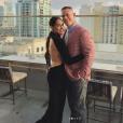 Nikki Bella et John Cena. Février 2018.