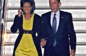 Barack et Michelle Obama, très élégants, sont arrivés en Europe et ont emporté... la Maison Blanche avec eux !