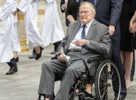 George H. W. Bush hospitalisé après les obsèques de sa femme Barbara