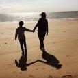 Emmanuelle Béart et son fils Surifel. Instagram, avril 2018