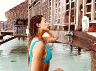Camille Cerf sensuelle sous la douche à Tahiti : Pas écolo, la belle critiquée !