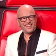 """Pascal Obispo lors du deuxième live de """"The Voice 7"""" (TF1) samedi 28 avril 2018."""