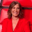 """Zazie lors du deuxième live de """"The Voice 7"""" (TF1) samedi 28 avril 2018."""