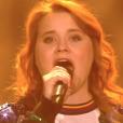 """Betty Patural lors du deuxième live de """"The Voice 7"""" (TF1) samedi 28 avril 2018."""