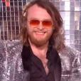 """Guillaume lors du deuxième live de """"The Voice 7"""" (TF1) samedi 28 avril 2018."""