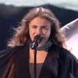 """Maëlle lors du deuxième live de """"The Voice 7"""" (TF1) samedi 28 avril 2018."""