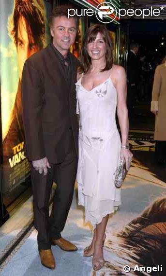 Paul Young et sa femme Stacey à la première du film Vanilla Sky à Londres en 2002