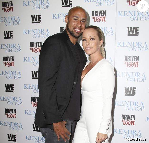 Kendra Wilkinson et son mari Hank Baskett à West Hollywood. Le 31 mars 2016.