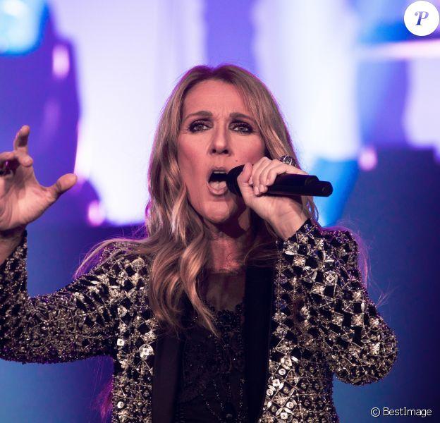 Celine Dion en concert au First Direct Arena à Leeds en Angleterre, le 25 juin 2017 © Joel Goodman/London News Pictures via Zuma/Bestimage