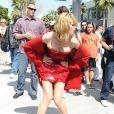 Heidi Klum se met dans tous ses états pour un shooting fou ! Avril 2009