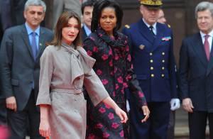 Carla Bruni et Michelle Obama : Il n'y a pas que la politique... il y a la mode aussi !