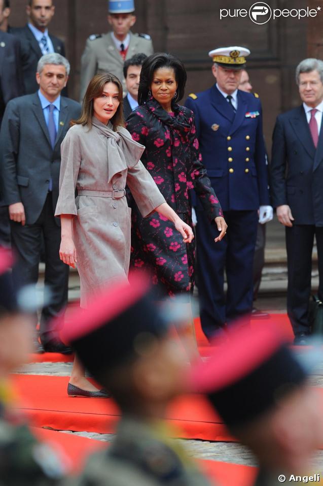 Carla Bruni-Sarkozy et Michelle Obama, deux Premières dames, deux styles