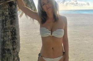 Elizabeth Hurley, 52 ans : elle dévoile sa silhouette musclée sur Instagram