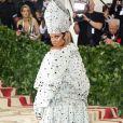Rihanna au Met Gala à New York, le 7 mai 2018.