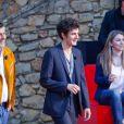 """Exclusif - Christophe Honore, Vincent Lacoste pour le film """"Plaire, aimer & courir vite"""" - Enregistrement de l'émission """"On n'est pas couché"""" à la Villa Domergue lors du 71ème Festival International du Film de Cannes le 9 mai 2018. L'émission sera diffusée le vendredi 11 mai à 23h35. © Philippe Doignon/Bestimage"""