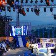 """Exclusif - Christophe Honoré, Vincent Lacoste, Pierre Deladonchamps pour le film """"Plaire, aimer & courir vite"""" - Enregistrement de l'émission """"On n'est pas couché"""" à la Villa Domergue lors du 71ème Festival International du Film de Cannes le 9 mai 2018. L'émission sera diffusée le vendredi 11 mai à 23h35. © Philippe Doignon/Bestimage"""