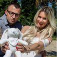 Cindy des Ch'tis à Mykonos enceinte avec son compagnon sur Instagram, mai 2018.
