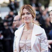 Caroline Receveur, enceinte et naturelle devant Capucine Anav célibataire