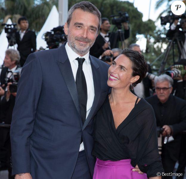 Alessandra Sublet et son mari Clément Miserez - Montée des marches du film «Le Grand Bain» lors du 71ème Festival International du Film de Cannes. Le 13 mai 2018 © Borde-Jacovides-Moreau/Bestimage