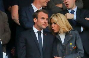 Brigitte et Emmanuel Macron,