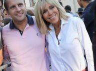 """Brigitte et Emmanuel Macron, """"couple très abordable"""" et inattendu à Porquerolles"""