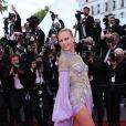 Natasha Poly (bijoux De Grisogono) - Montée des marches du film «Blackkklansman» lors du 71ème Festival International du Film de Cannes. Le 14 mai 2018 © Borde-Jacovides-Moreau/Bestimage