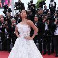 Nicole Scherzinger (bijoux De Grisogono) - Montée des marches du film «Blackkklansman» lors du 71ème Festival International du Film de Cannes. Le 14 mai 2018 © Borde-Jacovides-Moreau/Bestimage
